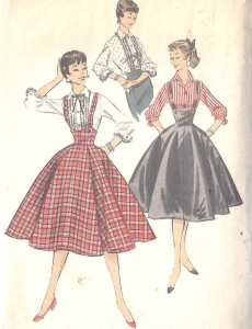 Advance pattern 8064, mid 1950s
