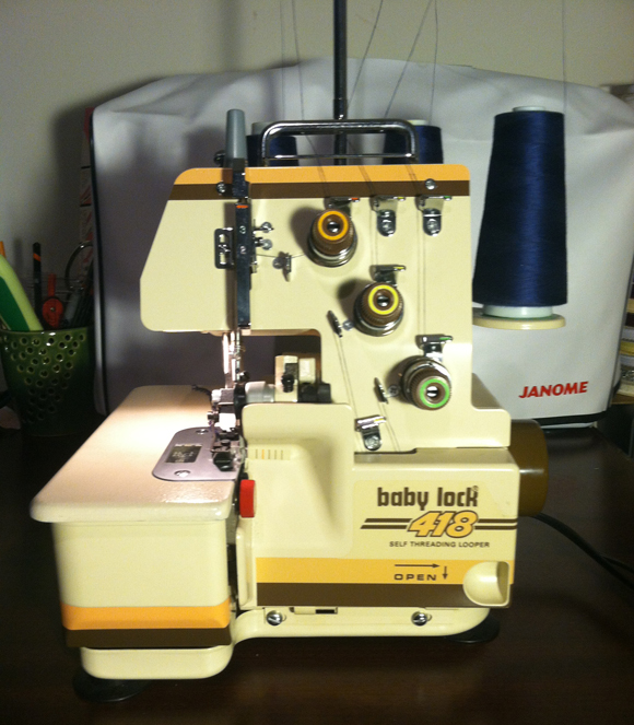 Babylock 418 Serger