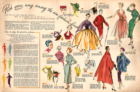 Fashion Trends from 1952