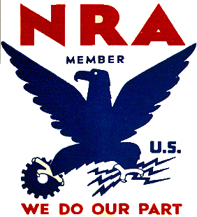 NRA Blue Eagle Logo