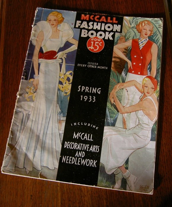 McCall Fashion Book, Spring 1933