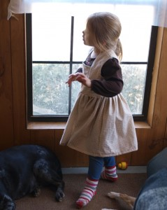 pinafore dress from simplicity 3603