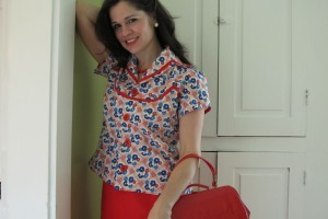 red blouse 036