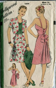 Hollywood 1606 - 1940s sun dress