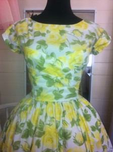 Tea Dress Bodice