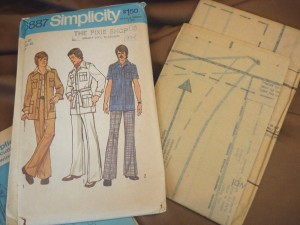 Safari leisure suit circa 1975.  Oh man!