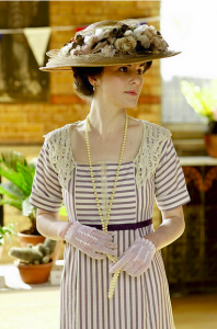 downton abbey garden frock