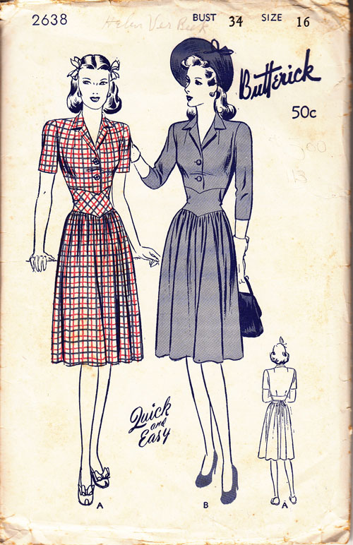 Butterick 2638