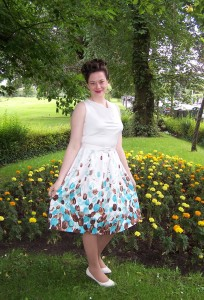 Tiptoe through the tulips dress