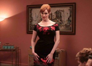 Joan's accordion scene in Season 3, Episode 3 of Mad Men.