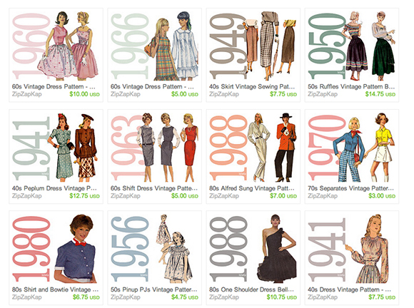One Year Already? 25% Off Vintage Patterns & Free 1940s Digital ...