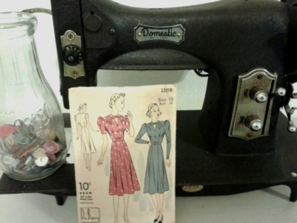 WWII era dress pattern