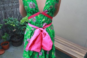 Green&amp;PinkDress001