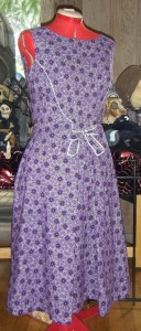 purple spiderweb1963 dress