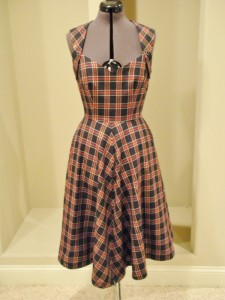 Tartan Plaid Swing dress