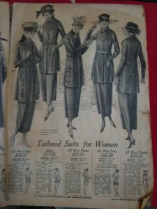 Montgomery Ward ladies suits