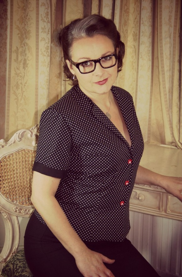 Norman Hartnell blouse