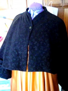 1950 Velveteen Capelet