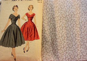 advance 6993 pattern and fabric