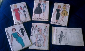 Vintage Dress Pattern Stash