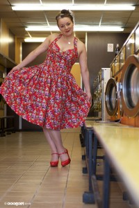 vintage style rockabilly dress