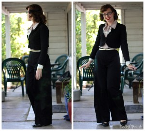 Simplicity pants in black
