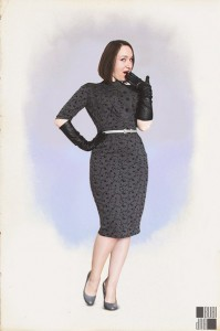 My first 50s wiggle dress