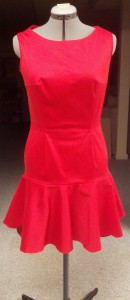 Red Event Dress-Front
