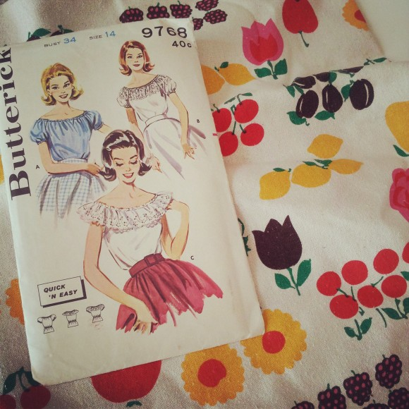Butterick Peasant Blouse