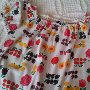 Fruity Peasant Blouse