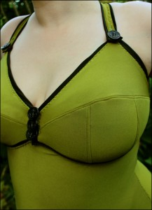 Swimsuit detail