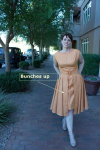 Butterick 4790 Bunches Up
