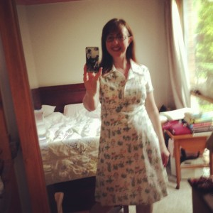 This has been in everything. House dress 1940's vintage pattern