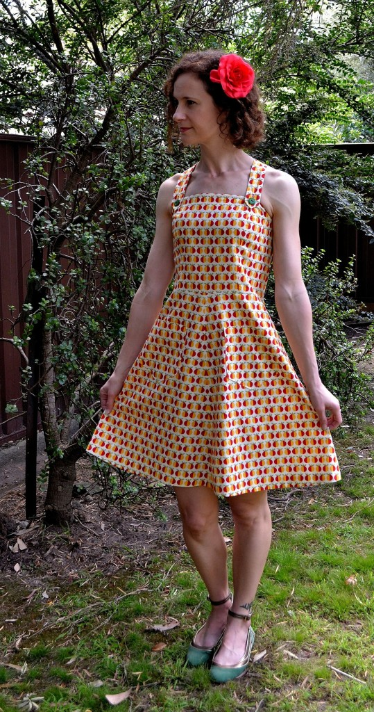 SewJillian's Oranges and Lemons Dress