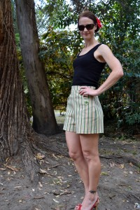 Sew Jillian's Miss Kitty Shorts