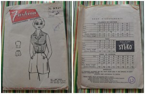 Fashion Cut Patterns 9720