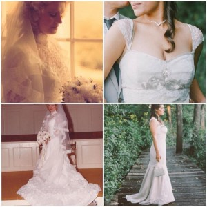 Mother's wedding gown/My wedding gown