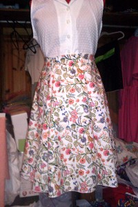 I created my gored skirts using Gertie's New Book for Better Sewing pattern and they turned out beautiful!