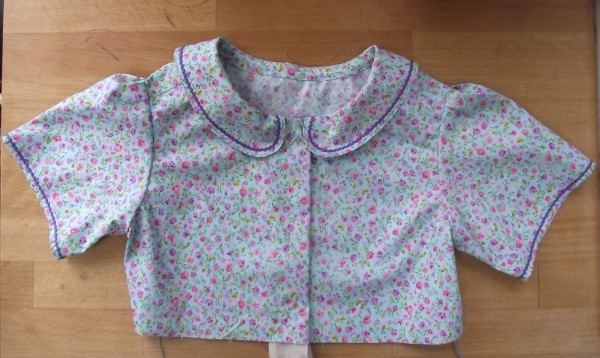 bodice of child's dress