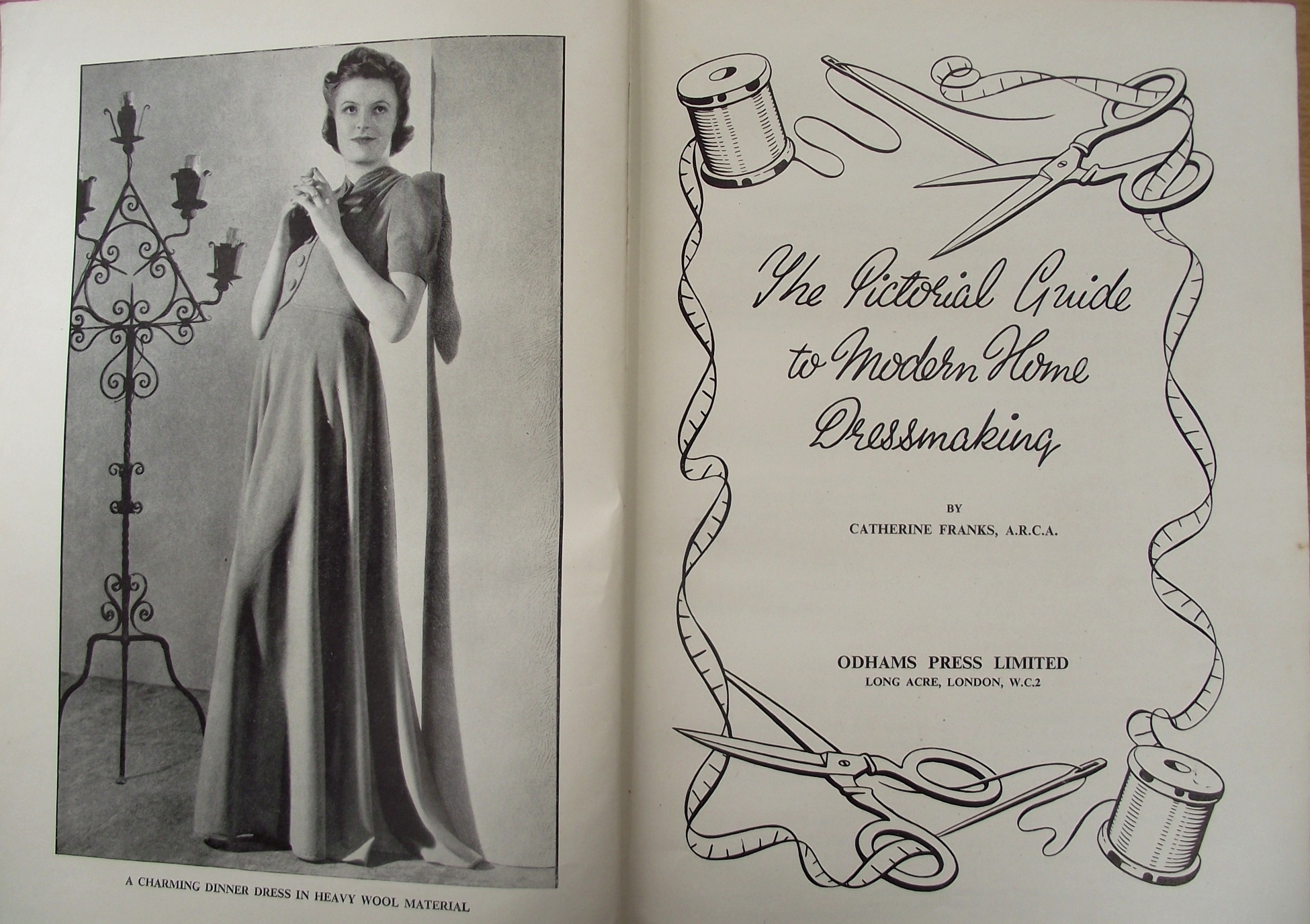 The Pictorial Guide to Modern Home Dressmaking