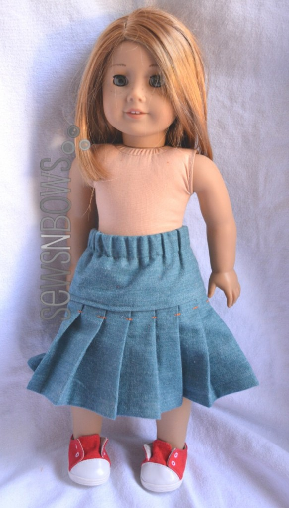 "Betty Skirt for 18"" doll 
