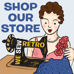 Shop our vintage sewing store