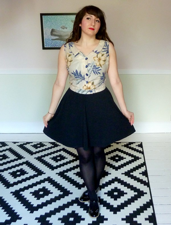 Cropped Hawthorn Blouse