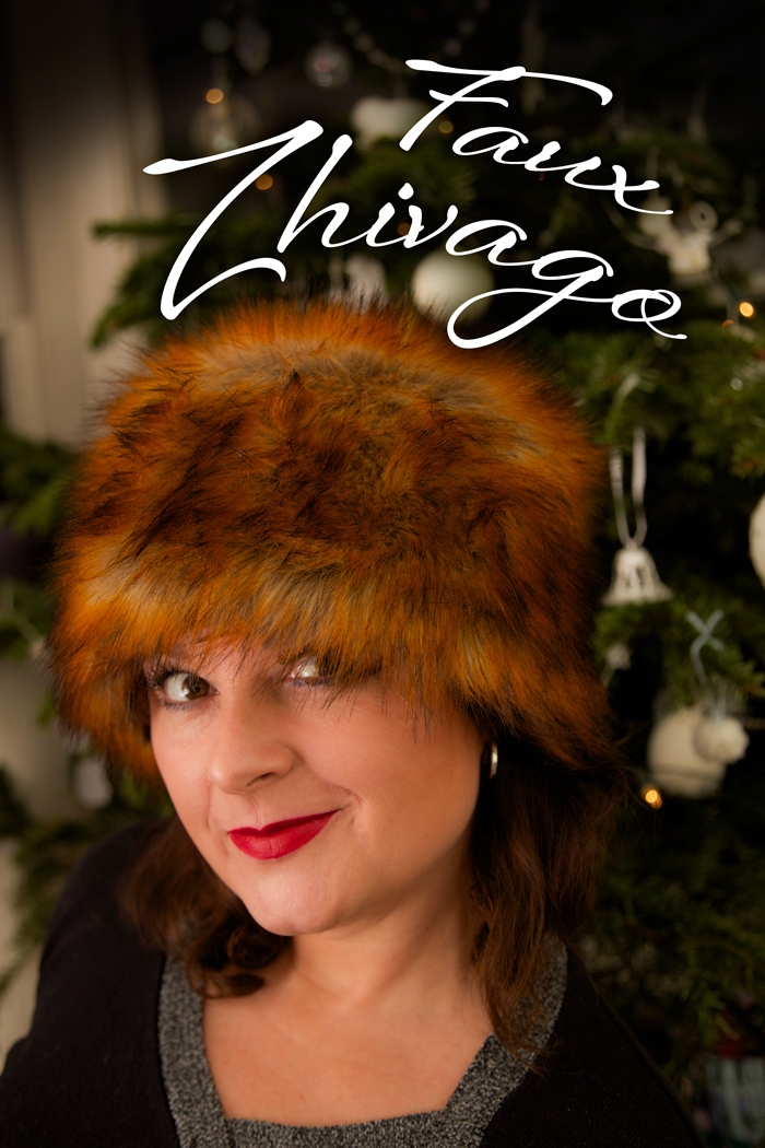 handmade faux fur hat