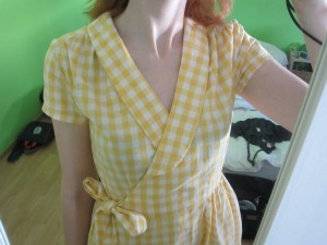 Gerties Wrap dress (4)