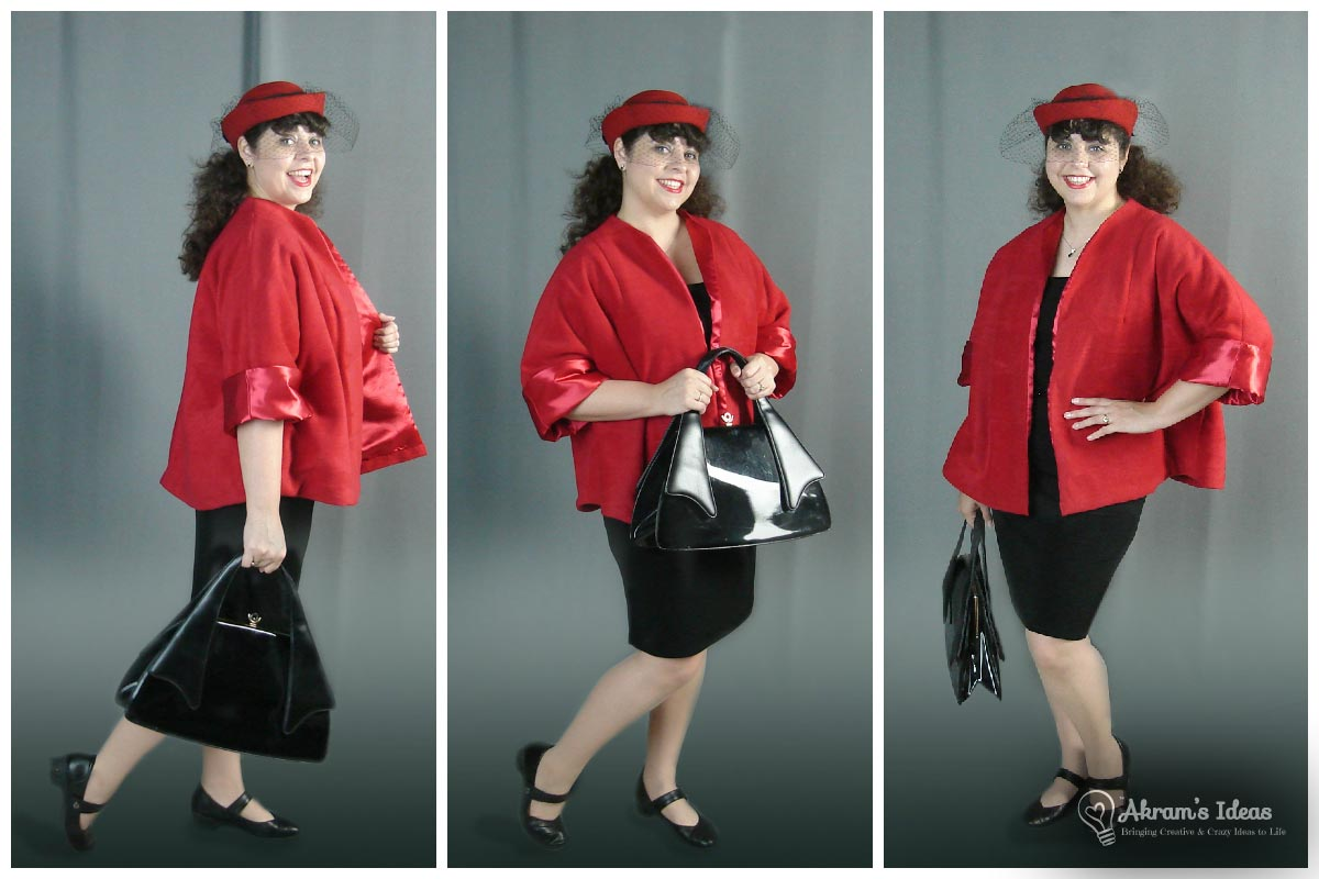 red swing coat