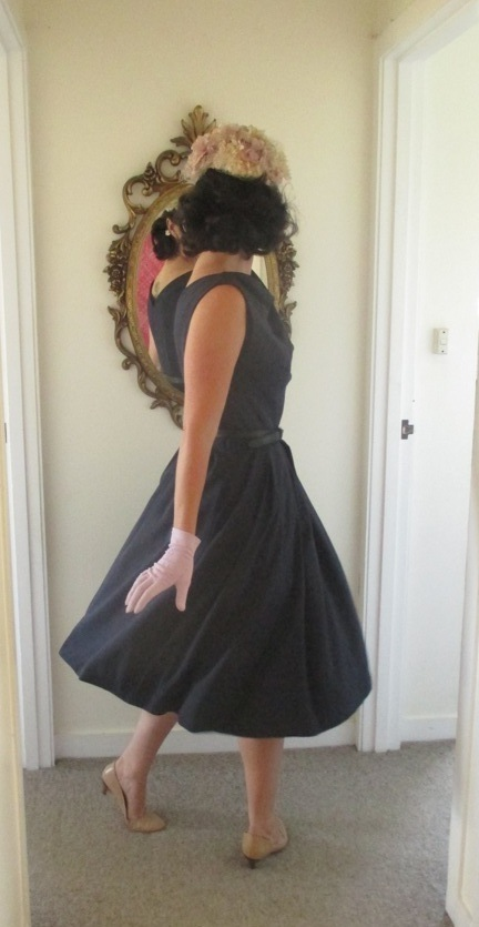 Butterick 7653 finished tall twirling2