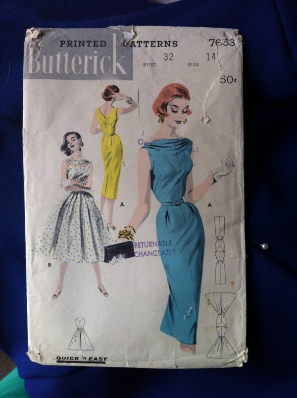 Butterick 7653 pattern