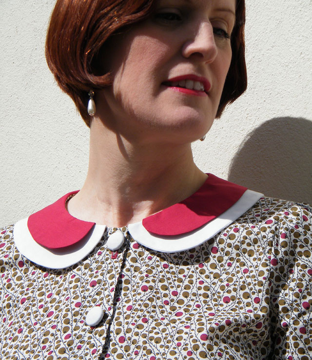 1930s Double Collar Blouse