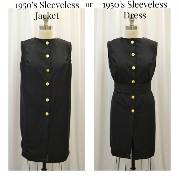 1950's jacket and dress